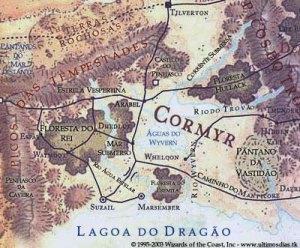 mapa cormyr